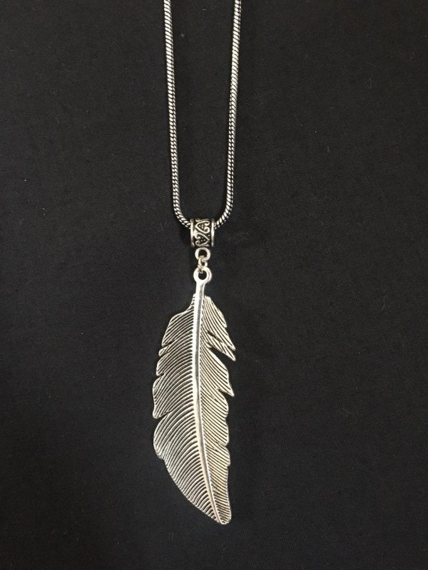 Feather pendant set online