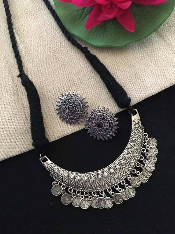Coin Necklace Set For Women