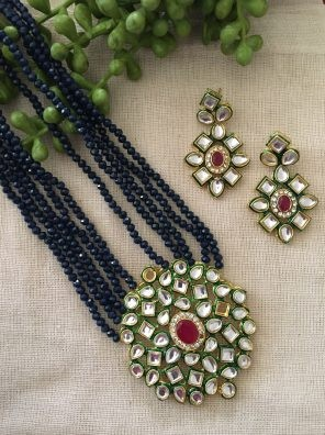 Kundan necklace for women
